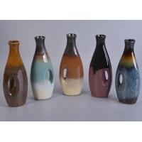 Shinny Glazed Hand Made Ceramic Diffuse bottles For Car Decoration Wholesale