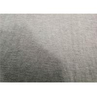 China Soft Wool Knit Fabric 85% Viscose 15% Wool Knitted Jersey Shrink Resistant on sale