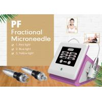 Quality Portable Skin Tightening Fractional RF Micro Needle Machine 25 Pins and 49 Pins wholesale