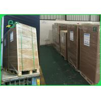 Quality 110 -220gsm Recycled Kraft Liner Board Sheet For Packing Box 65 * 86cm FSC wholesale
