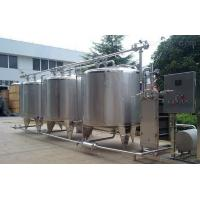 Buy cheap Food Production Line Movable Cip Washing Station Automatic Reset Design from wholesalers