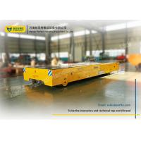 China Raw Material Battery Transfer Cart Bogie , Warehouse Automated Guided Carts Explosion Proof on sale