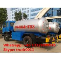factory supply 3metric tons lpg cooking gas delivery truck, hot sale 7 cubic meters propane gas tank truck