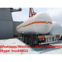 Quality best seller 50m3 bulk lpg gas road transported tanker in 2019s, new manufactured cheaper 20tons propane gas tanker wholesale