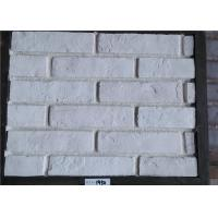 Quality White Faux Exterior Brick Decoration Thickness 10-15mm Solid Surface wholesale
