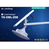 Quality 12V 6000K Integrated Solar Powered LED Wall Light For Garden / Roadway wholesale