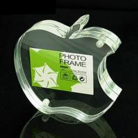 Quality Apple Shape Acrylic Picture Frames With High Transparency For Family Gift wholesale