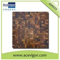Quality Wall tiles mosaic for, wood mosaic wall tiles wholesale