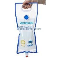 Quality 5L BPA Free Collapsible Water Bottle Foldable plastic Water Bag for Promotional/Camping/Climbing/Picnic/BBQ bagease pack wholesale