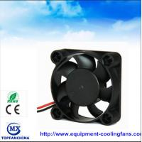 Buy cheap Portable plastic small cooling fan , dc axial compact fan 40mm x 40mm x 15mm from wholesalers