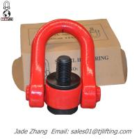 Quality G80 swivel lifting points TianJin Yiyun Rigging export YDS swivel hoist ring size m8 to m100 wholesale