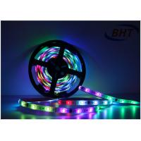 Quality Ip Rated RGBW Led Strip Lights , Led Light Color Changing Strips Silicon Tube wholesale