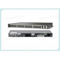 Quality Cisco Catalyst Switch WS-C3750V2-48TS-S Layer 3 - 4 SFP - IP Base - Managed - Stackable wholesale