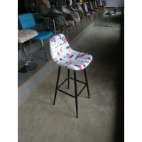 Cheap Fabric seat / Wood and Metal Bar Stool /Morden Commercial Cheap Used Chair HR for sale