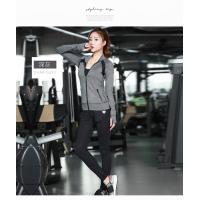 Quality Light Weight Womens Sports Coat , Ladies Sports Coats Long Sleeve Zipper Front wholesale