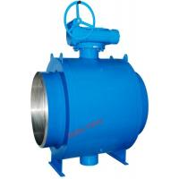 Quality BW Flange Fully Welded Ball Valve Gear Operation Long Working Lifespan wholesale