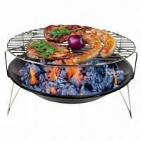 China 14-inch Table Simple Barbecue Grill, Ideal for Balcony and Terrace on sale