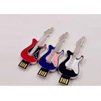 China Small Hi - Speed Jewelry Guitar Portable Usb Flash Drive 64gb Customed Logo on sale