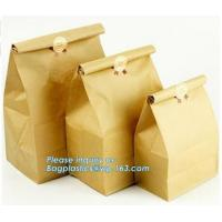 Quality promotion gift bag bagease kraft paper bag fast food paper bag,take away fast food grade brown bread low cost paper ba wholesale