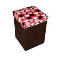 Quality Square cube shape oxford collapsible storage box bag  for home articles 31×31×46cm wholesale