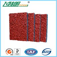 Buy cheap Breathable Running Track Surfaces Outdoor Rubber Safety Surfacing UV - Resistance from wholesalers