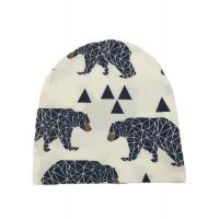 China Multi Color Winter Knit Cap / Cool Kids Knitted Hats Warm Animal Pattern on sale