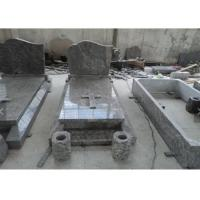 Quality Classic Granite Memorial Headstones Carved / Custom Surface SGS Approved wholesale