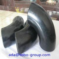Quality A234 Wpb Carbon Steel Pipe Fitting Connector LR Elbow 90 D Sch40 ANSI wholesale