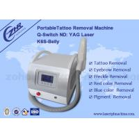 Quality Permanent Laser Q Switched Nd Yag Tattoo Removal Equipment 1064nm/532nm/1320nm wholesale
