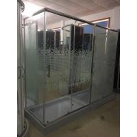 Quality Rectangular Corner Shower Enclosures With Shiny Aluminium Frame wholesale