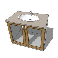 Cheap basin with cabinet sink bowl bathroom ceramic 1000mm - Cheap bathroom cabinets for sale ...