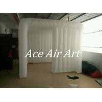 3mL*3mW*2.5mH Colorful Led Inflatable Photo Booth Cube tent/Inflatable Cabin for