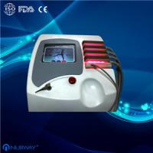 Cheap Portable Non Invasive Lipo Laser Diode Body Slimming Machine / Device For Home for sale