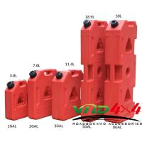 China Factory Wholesale Roto Molded 3-8 Gallon 19L Plastic Jerry Can / Gasoline diesel fuel container on sale