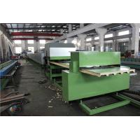 Quality High Speed Polyurethane Sandwich Panel Manufacturing Line Roll Forming Machinery wholesale