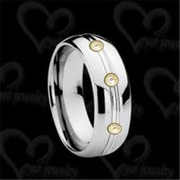 Buy cheap Unique tungsten ring fashion jewelry from wholesalers