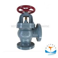 Quality Marine Cast Iron Screw Down Check Angle Valve JIS F7378 16K For Boat wholesale