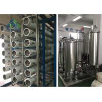 Quality Desalination Of Sea Water Ro Plant / Ro Membrane Seawater Desalination wholesale