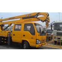 Quality 96kw Platforms Boom Lift Truck Horizontal Reaches Up To 18 Meters wholesale