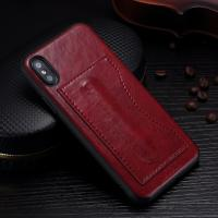 Quality Idools Card Slot Phone Case , Customized Back Cover Support Stand Holder wholesale