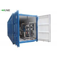 Quality 10m³ RO System Reverse Osmosis Salty Sea Water Desalination Plant Equipment With Container wholesale