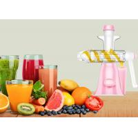 Quality Durable Manual Juice Maker No Electricity Needed Fruit Ice Cream Making Machine wholesale