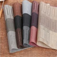 China Black PVC Coated Textiline Fabric 2*1 Weave 600D-1000D Textile Mesh on sale