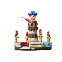China Adventuring Pirate Inflatable Climbers For Toddlers , Rock Climb Slide Inflatable 7.0 X 5.6 M on sale