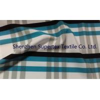 Quality Polyester Poplin Elastic Stretch Fabric with all over Paper Print wholesale