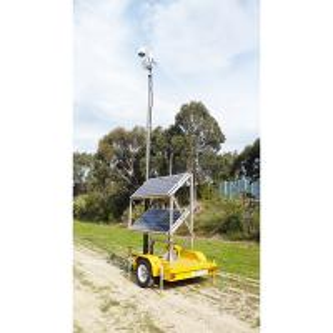 Quality 6m CCTV Trailer System-pneumatic telescopic mast-mobile trailer CCTV wholesale