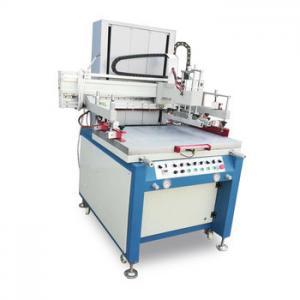 Quality Semi Auto Screen Printing Machine , Vertical Printing Machine With Vacuum System wholesale