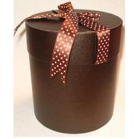 Quality Customized paper cylinder shaped gift box & paper round box kraft printing wholesale