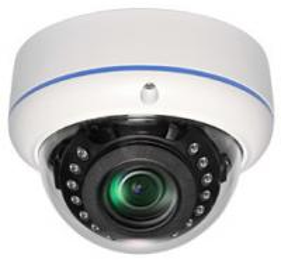 Vandal Proof Dome Outdoor Security Cameras , Street Surveillance Cameras For DVR
