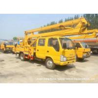 Quality ISUZU 16m Truck Mounted Articulated Aerial Work Platforms High Performance wholesale